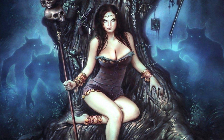 Fantasy  Witch Hot Tankini Gothic Warrior Women