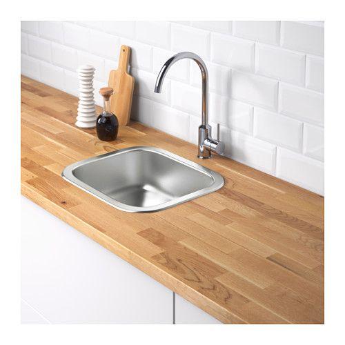 FYNDIG Single bowl top mount sink - IKEA Kitchen Appliances - fyndig k che ikea