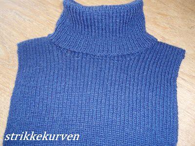 strikkekurven: Halsedisser
