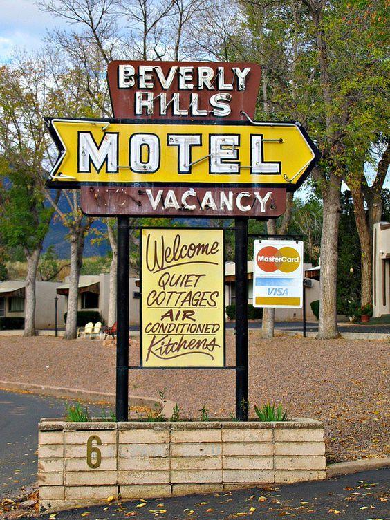 Beverly Hills Motel Colorado Springs Colorado Old Neon Signs Vintage Neon Signs Love Neon Sign