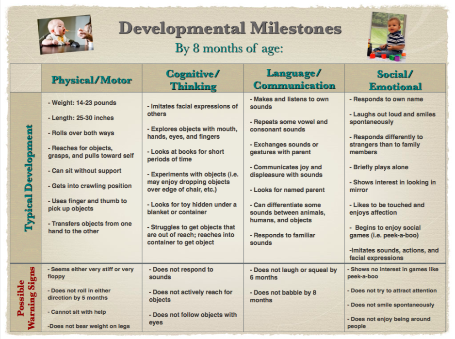 Developmental milestones chart also rh pinterest