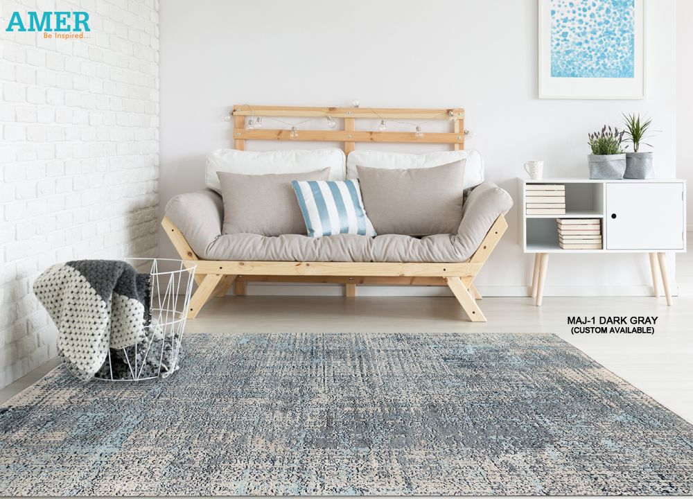 Majestic Maj 1 Dark Gray With Images Amer Rugs Carpet