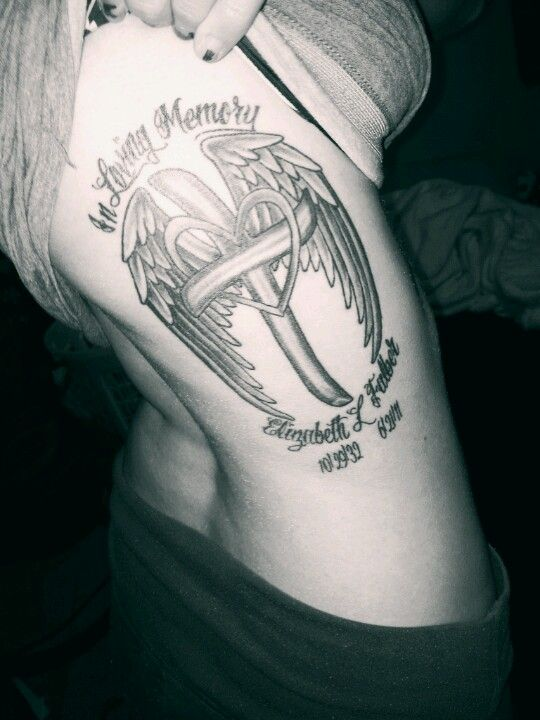 Possible tat idea for my brother. Wit his name and dates ...