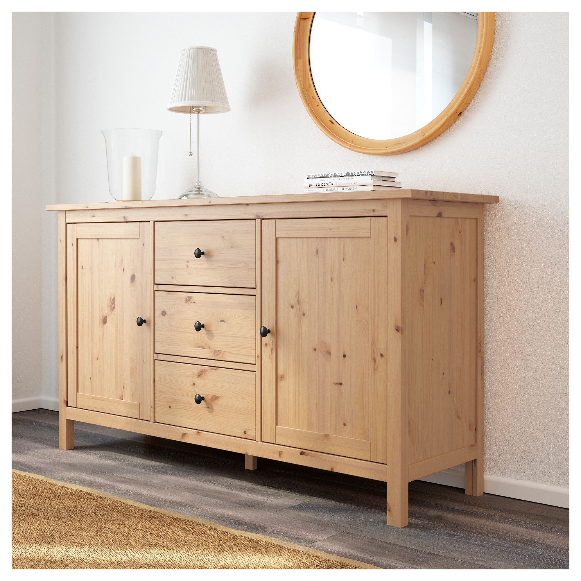 hemnes sideboard, light brown in 2018   products   pinterest