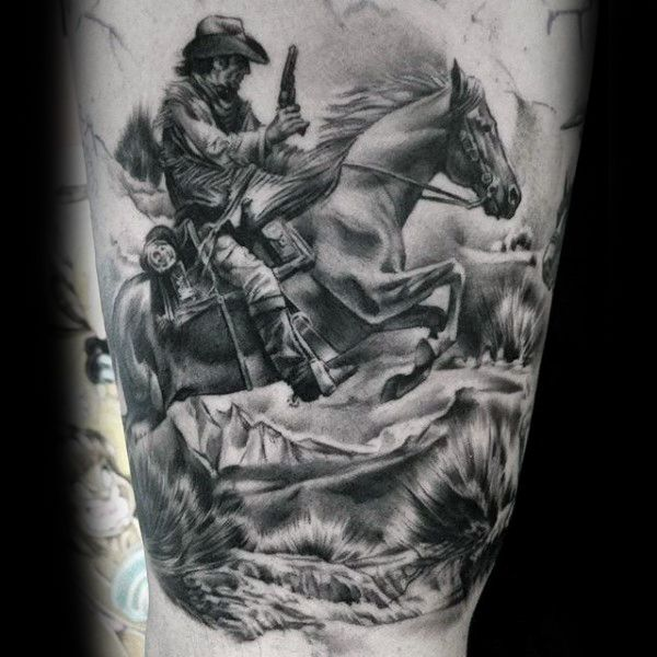 cowboy horse tattoo google search westerns pinterest tattoo western tattoos and cowboy. Black Bedroom Furniture Sets. Home Design Ideas
