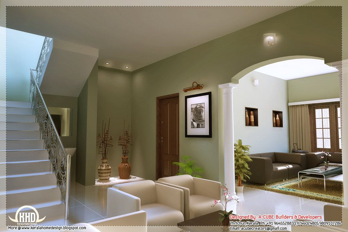 Kerala style home interior designs  Kerala house design, House
