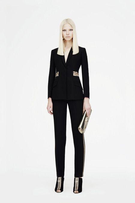 Sasha Luss for Versace Resort 2015
