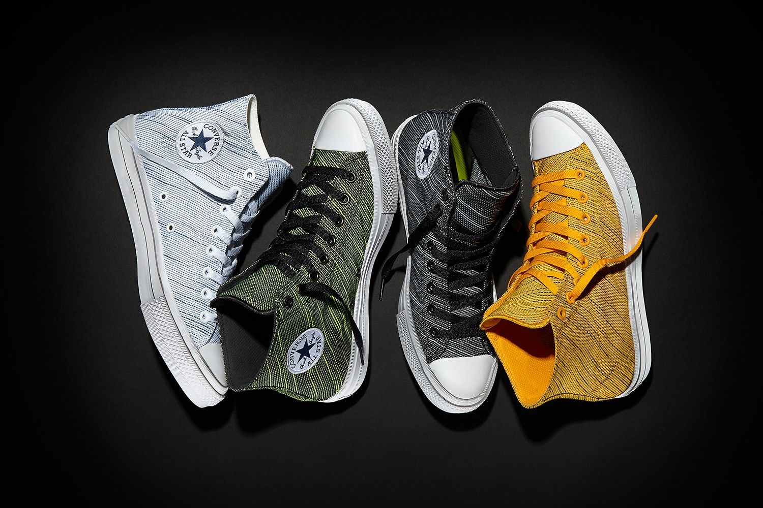 218847d1f Converse Introduces Knit Takes on the Chuck Taylor All Star II ...