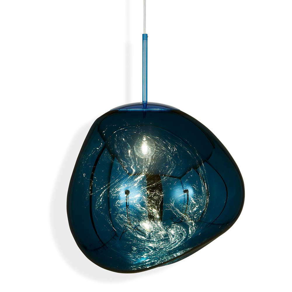 With Melt Our Experiments In The Technologically Advanced Field Of Vacuum Metallization Take On A New Twist Tom Dixon Lighting Floor Lamp Design Tom Dixon Melt