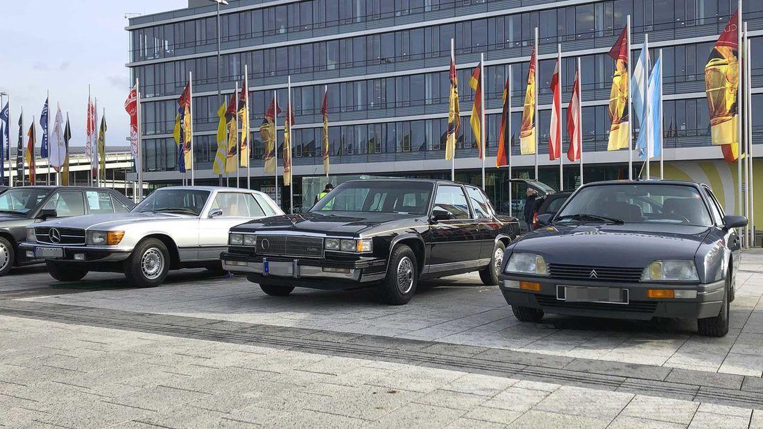 Retro Classics Stuttgart 2020 Marktrundgang Youngtimer Oldtimer