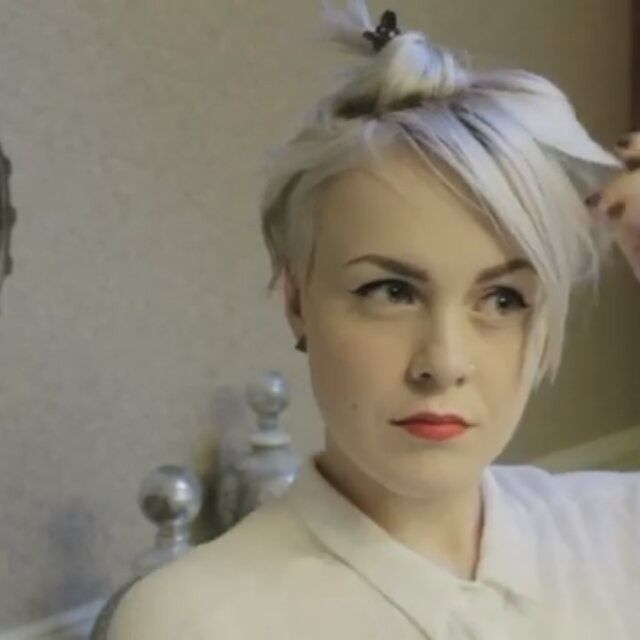Likes Comments Short Hairstyles Pixie Cut - Undercut hairstyle pixie