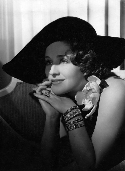 Norma Shearer - Photo by George Hurrell