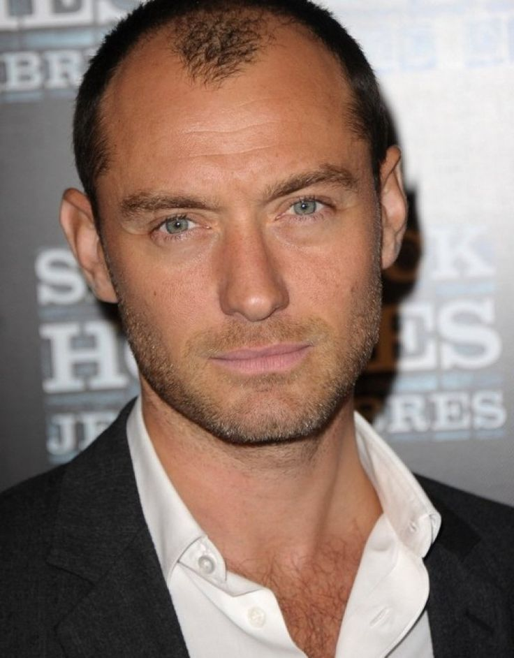 Hairstyles For Men With Receding Hairlines 8 Hairstyles For Men With Receding Hairline  Pinterest  Jude Law