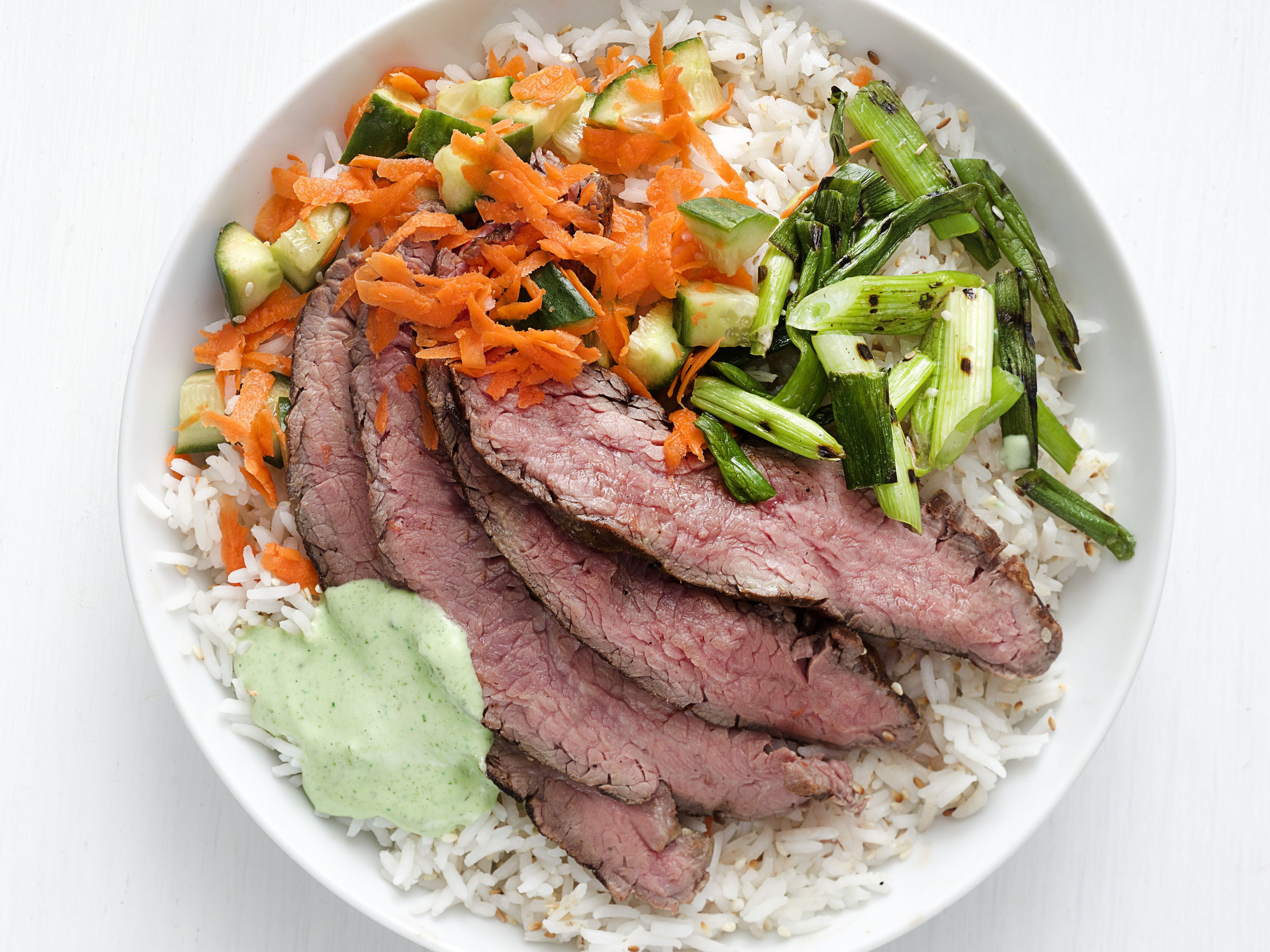 Grilled steak and rice bowl recipe grilled steaks rice bowls grilled steak and rice bowl forumfinder Image collections