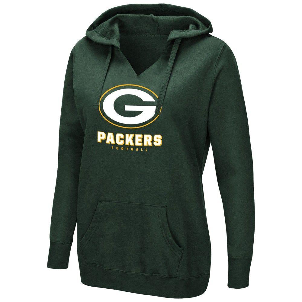 Green Bay Packers Women S Shape It Up Plus Size Hoodie 4x Packers Womens