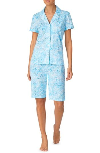 Enjoy exclusive for Lauren Ralph Lauren Notch Bermuda Pajamas online - Newtoprated
