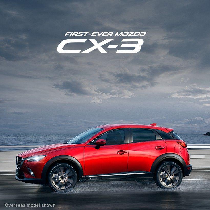 First Ever Mazda Cx 3 Move Like Never Before マツダ Cx3 マツダ 自動車