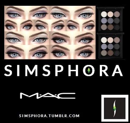 Lana CC Finds Mac shadows, Shadow set, Find makeup