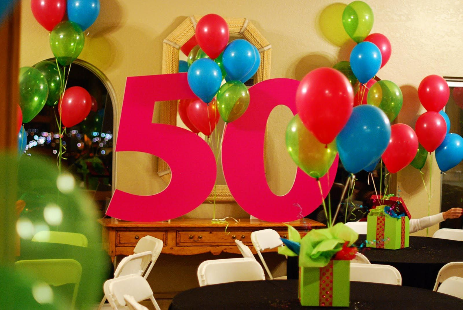 50th Birthday Surprise Party Ideas