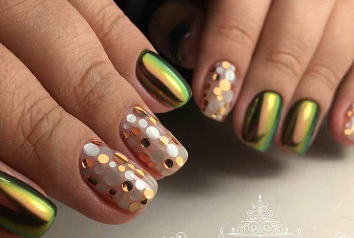 Модный дизайн ногтей 2017 — фото новинки