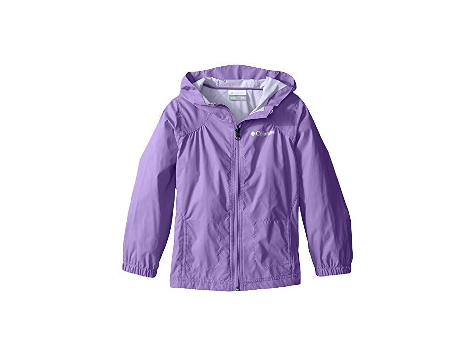 2c84b0a7e Columbia Kids Switchbacktm Rain Jacket (Toddler) (Grape Gum) Girl's Coat.  Rainy