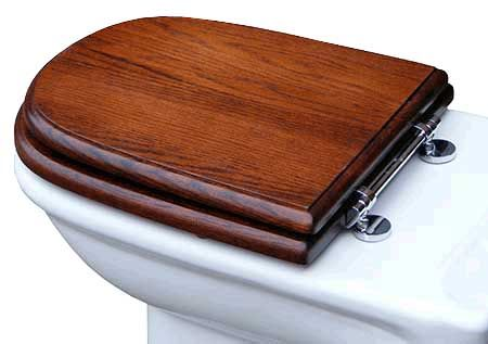 Exceptionnel Pinewood Joiners   Roca Giralda Dama Laura Solid Wooden Toilet Loo Seat,  Toilet Cover