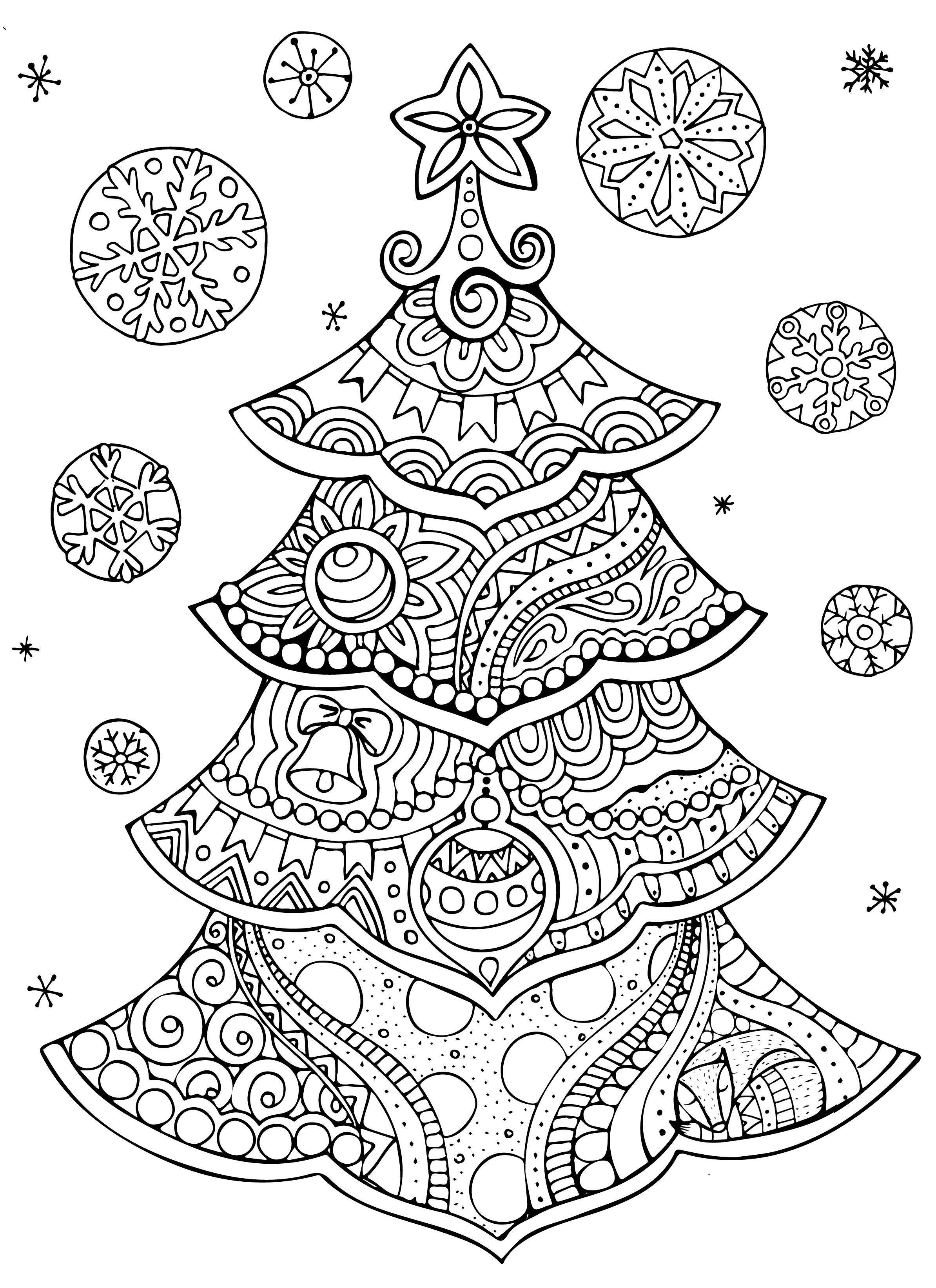 Printable christmas coloring pages, Free christmas coloring pages
