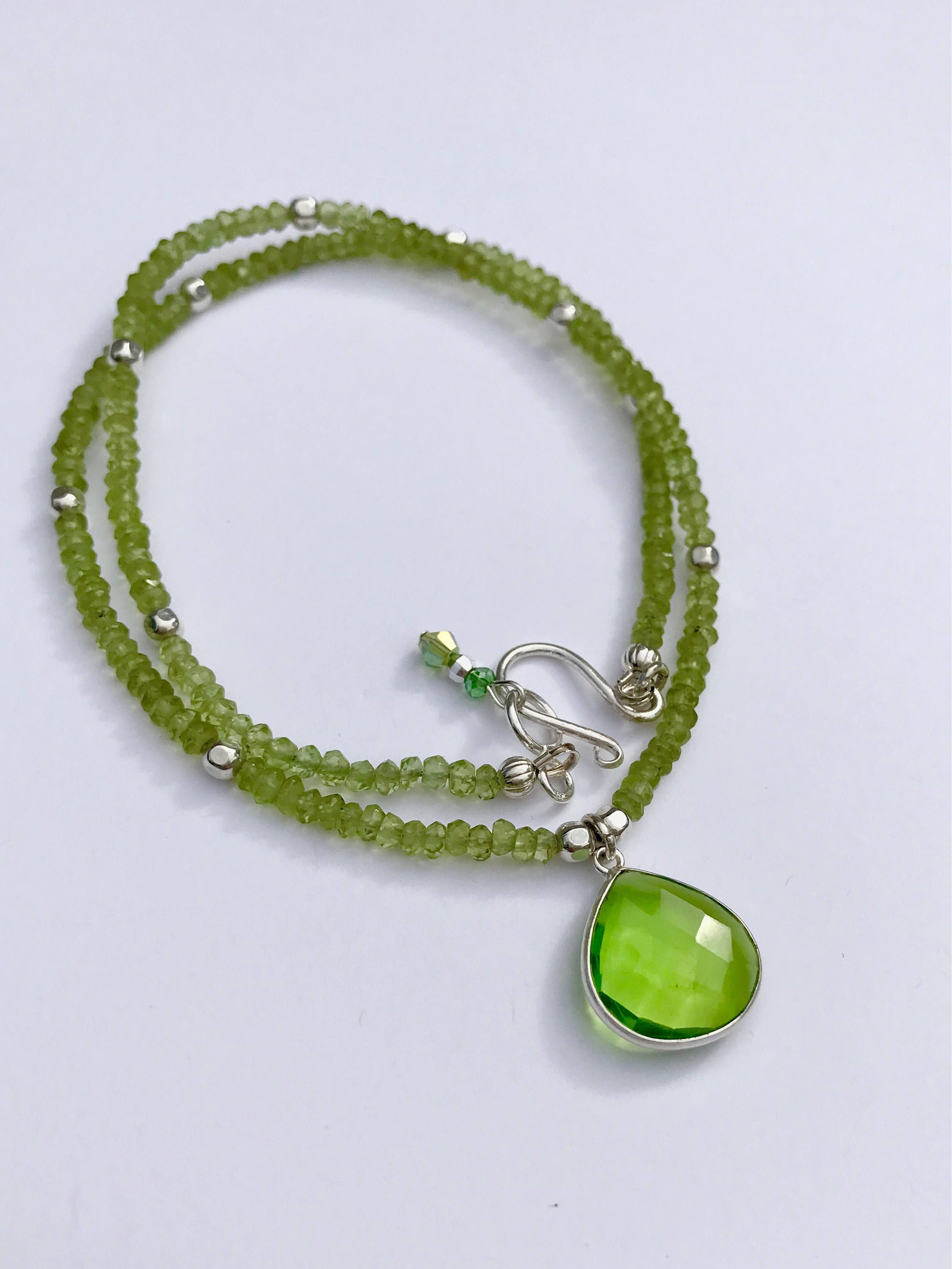 birthstone peridot en august of sterling and amp necklace london links hires gb mini silver charm
