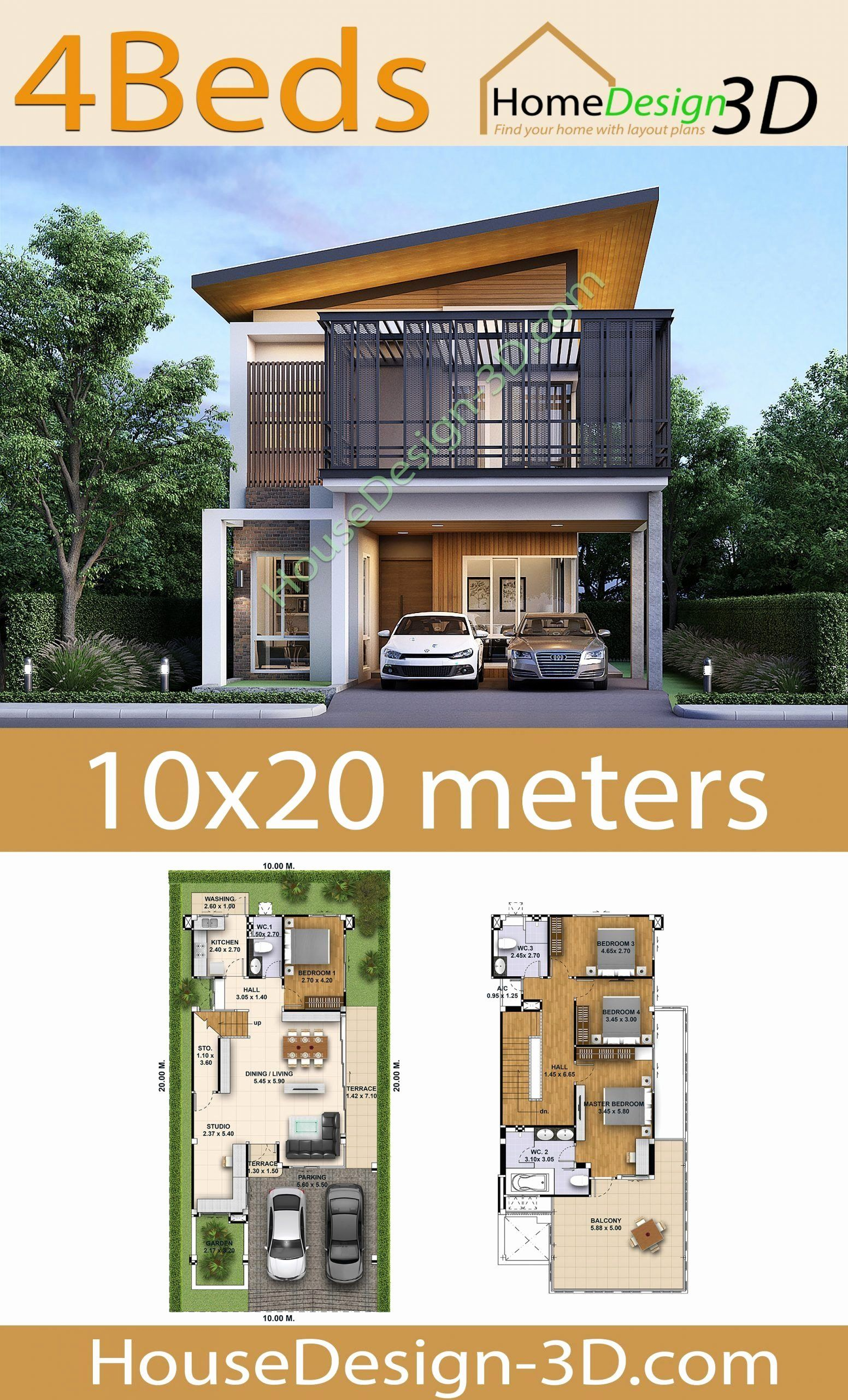 10 X 20 Meters Is The Area That These Home Plans Are Turning Into Homes Housing In This Size Area Is Poss Tiny House Floor Plans Floor Plan Design How To Plan