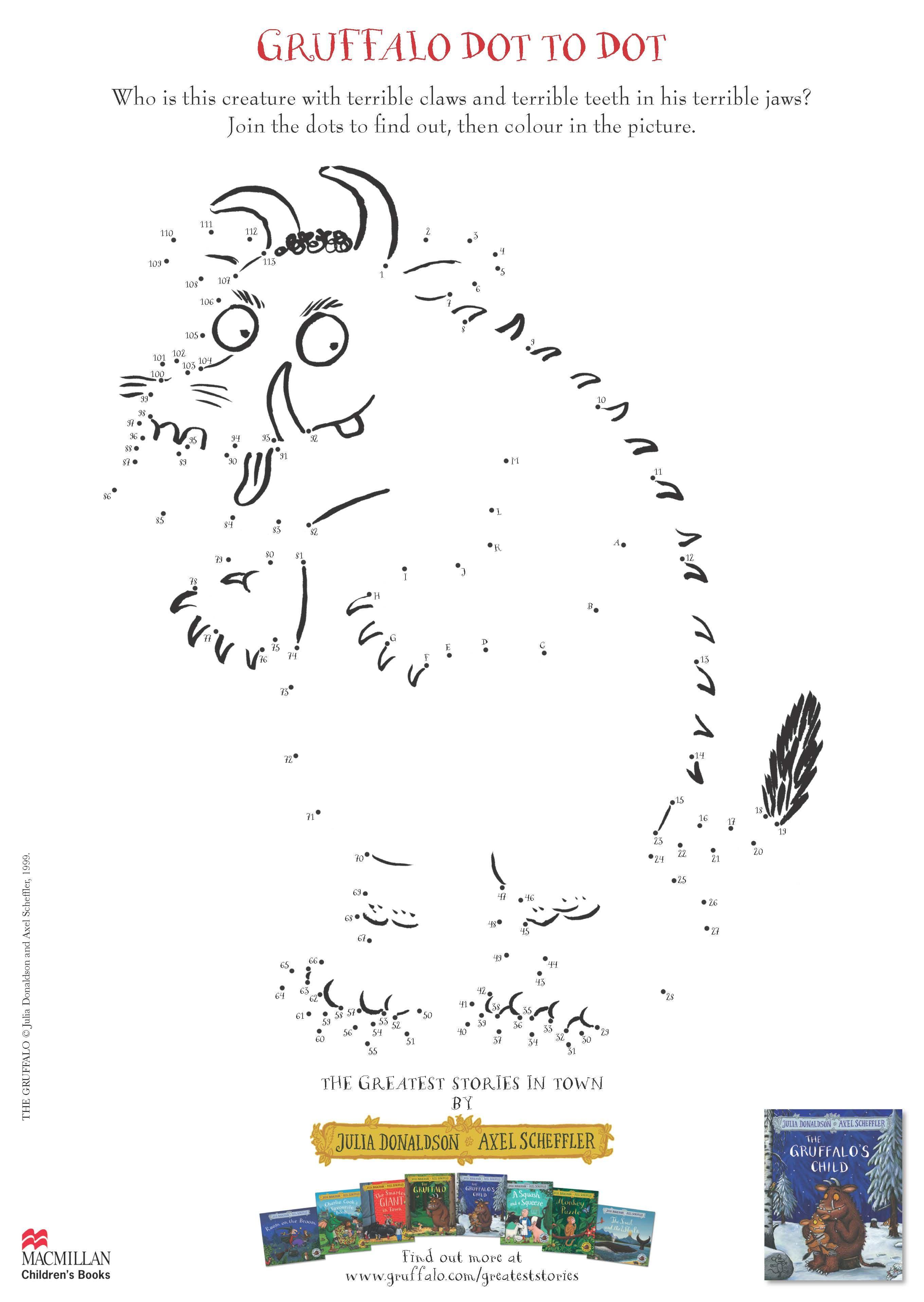 Gruffalo S Child Activity Sheet