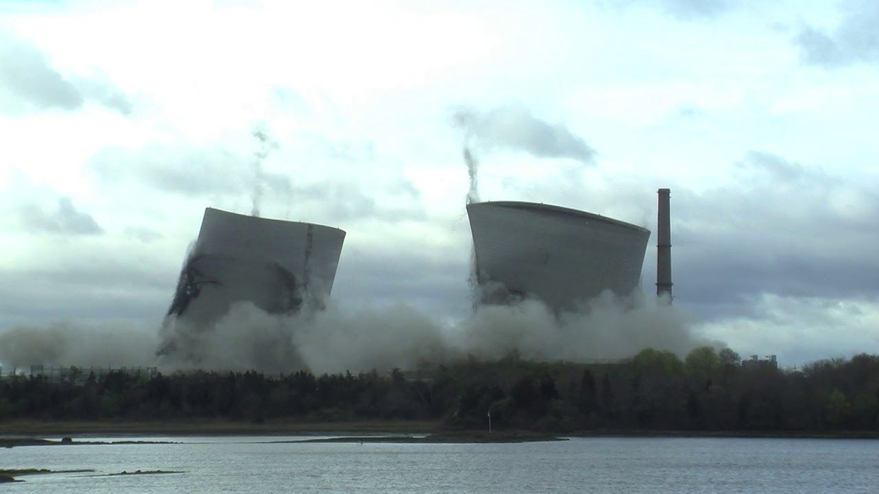 Cdi Sets World Record For Tallest Cooling Tower Implosion