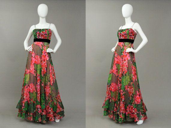 Vintage Clothing Vintage Dress Vintage by DustyButterflyShop