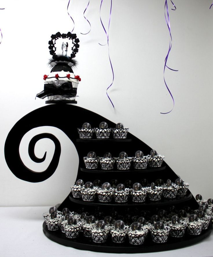 Wedding Cupcake Stand Ideas: 2015 Halloween Nightmare Before Christmas Cupcake Ideas