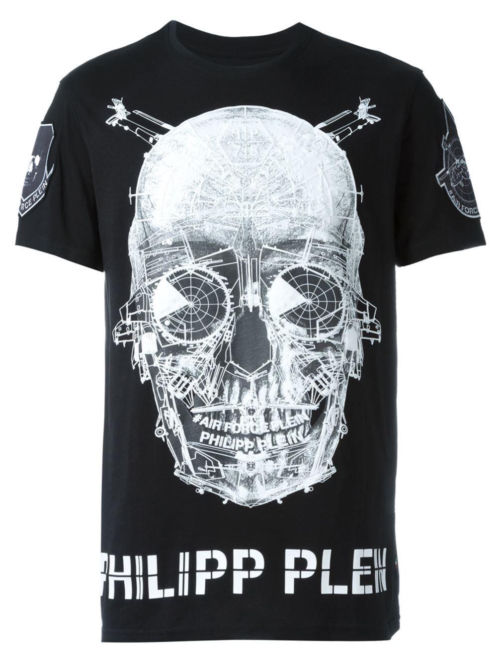 Philipp Plein t-shirt imprimé   T Shirt   Graphic Wear   Philipp ... ac7cec03bfc5