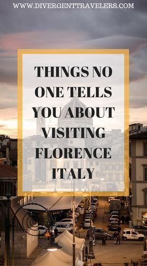 Italian Florence: 3 Days In Florence Itinerary (Do Not Visit Without Reading