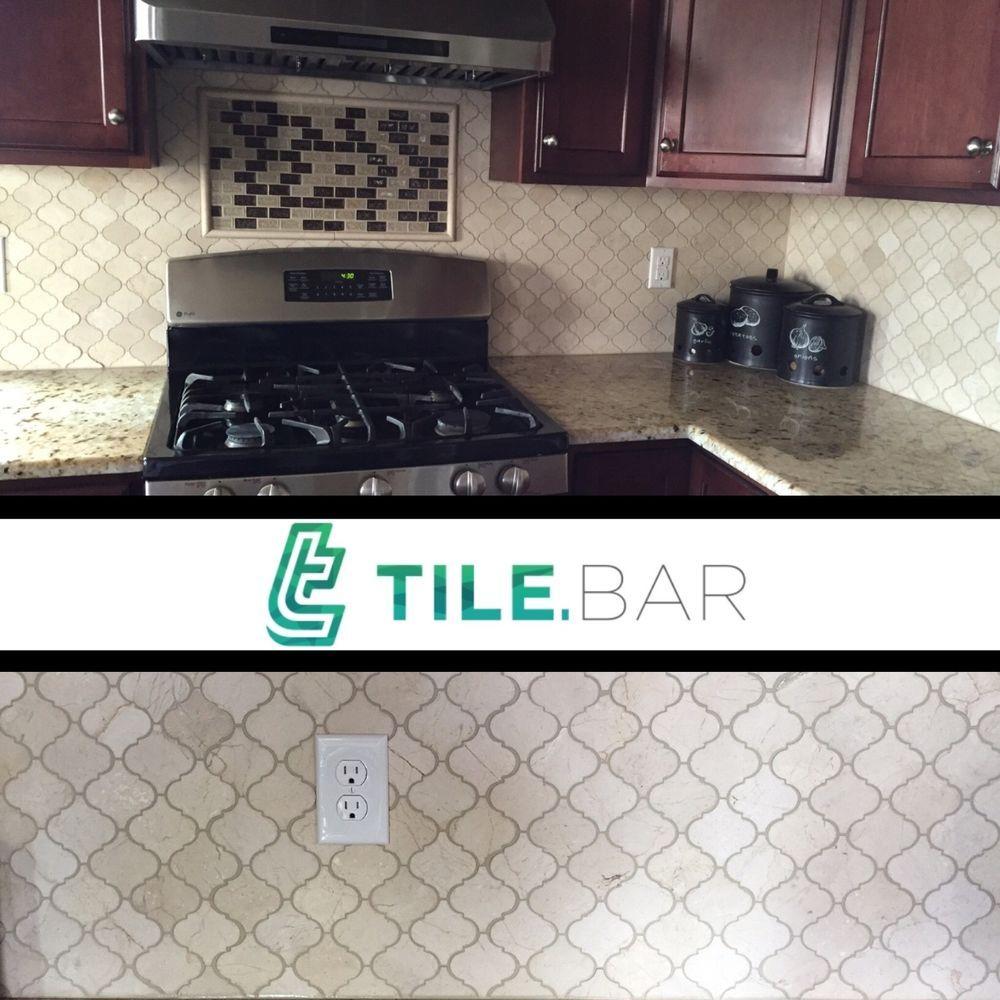 10sf crema marfil moroccan lantern mosaic tile kitchen bathroom