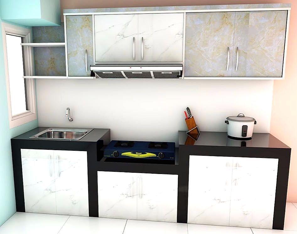 Model Kitchen Set Sederhana Terbaru