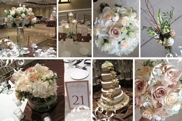 brown themed wedding ideas | 26 Incredible Ivory Wedding ...