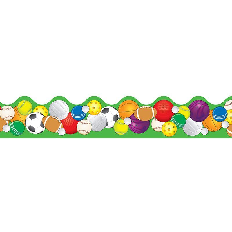 Sports Classroom Decorations Border Balls