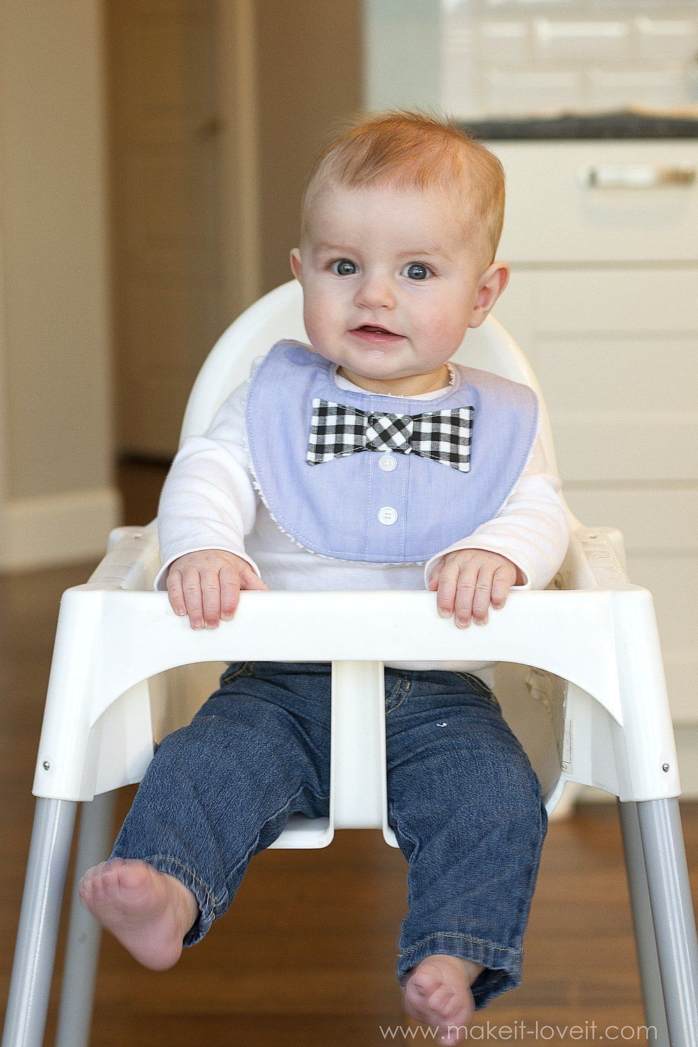Bow Tie Drool Bibs For Boys From A Men S Shirt Baby