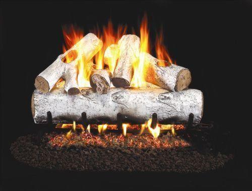 Best Gas Fireplace Logs In Birch Tackk Gas Logs Gas Fireplace
