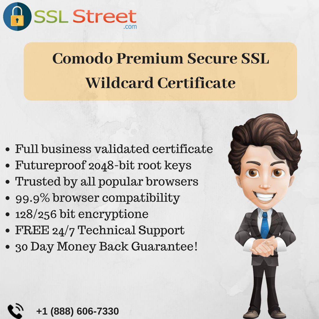 Comodo Premium Ssl Certificate Secure Your Multiple Subdomain Or