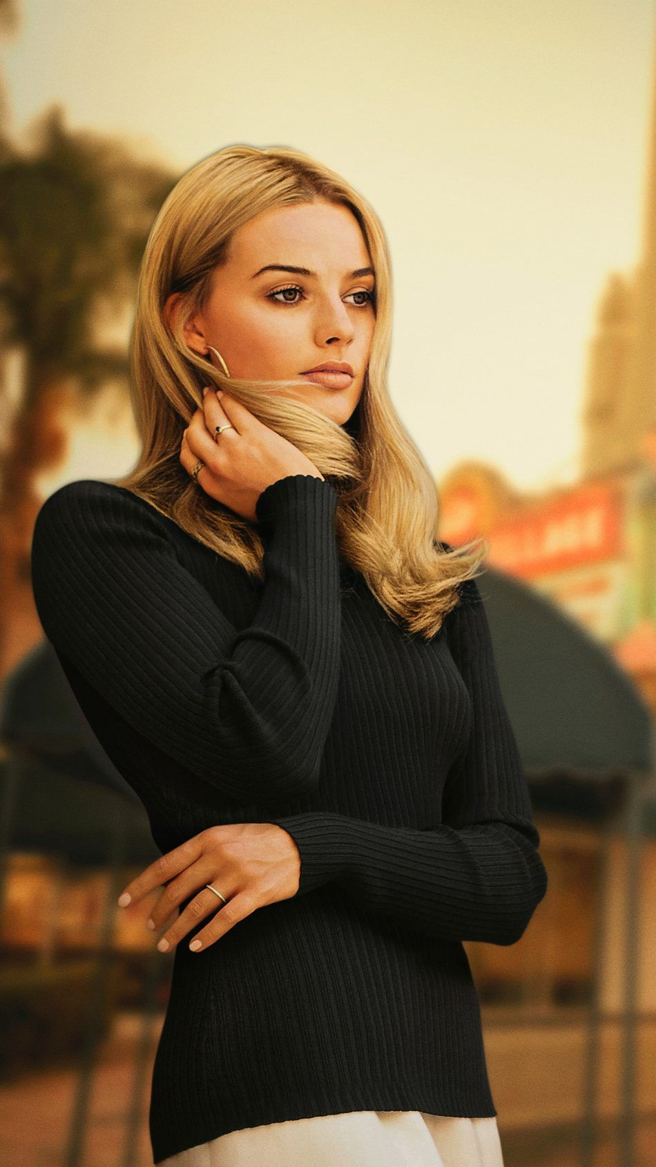 Margot Robbie Once Upon A Time In Hollywood 2019 4k Ultra Hd Mobile Wallpaper Actress Margot Robbie Margaret Robbie Margot Robbie