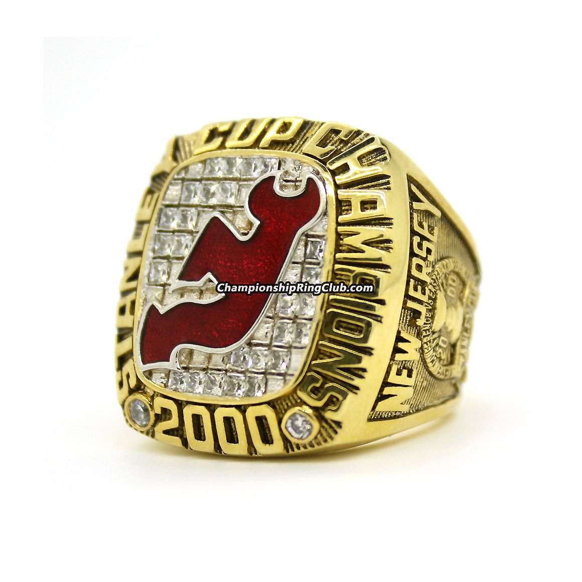2000 New Jersey Devils Stanley Cup Championship Ring. Best gift from  www.championshipringclub.com for New Jersey Devils fans. abe262331