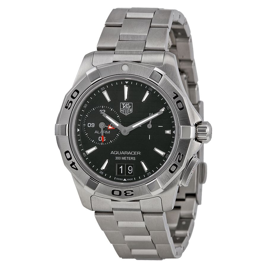 Aquaracer Black Dial Stainless Steel Men's Watch - ROCCO