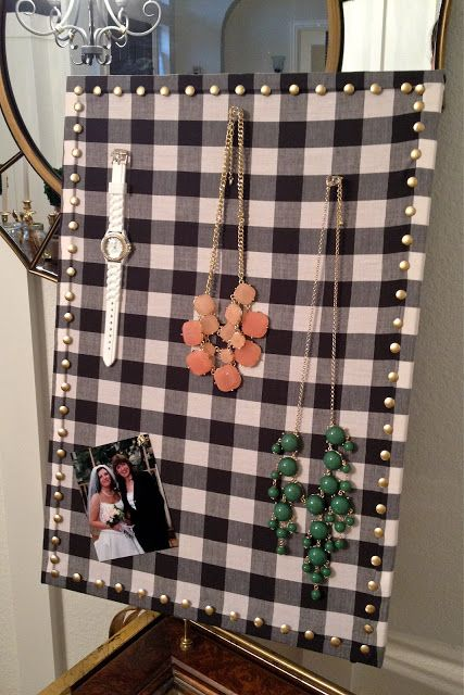 Windgate Lane Jewelry Holder organizer from bulletin board