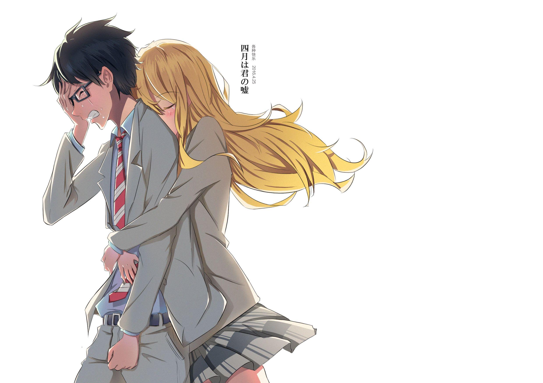 Kousei And Kaori Your Lie In April Anime Kousei Arima Your Lie In April
