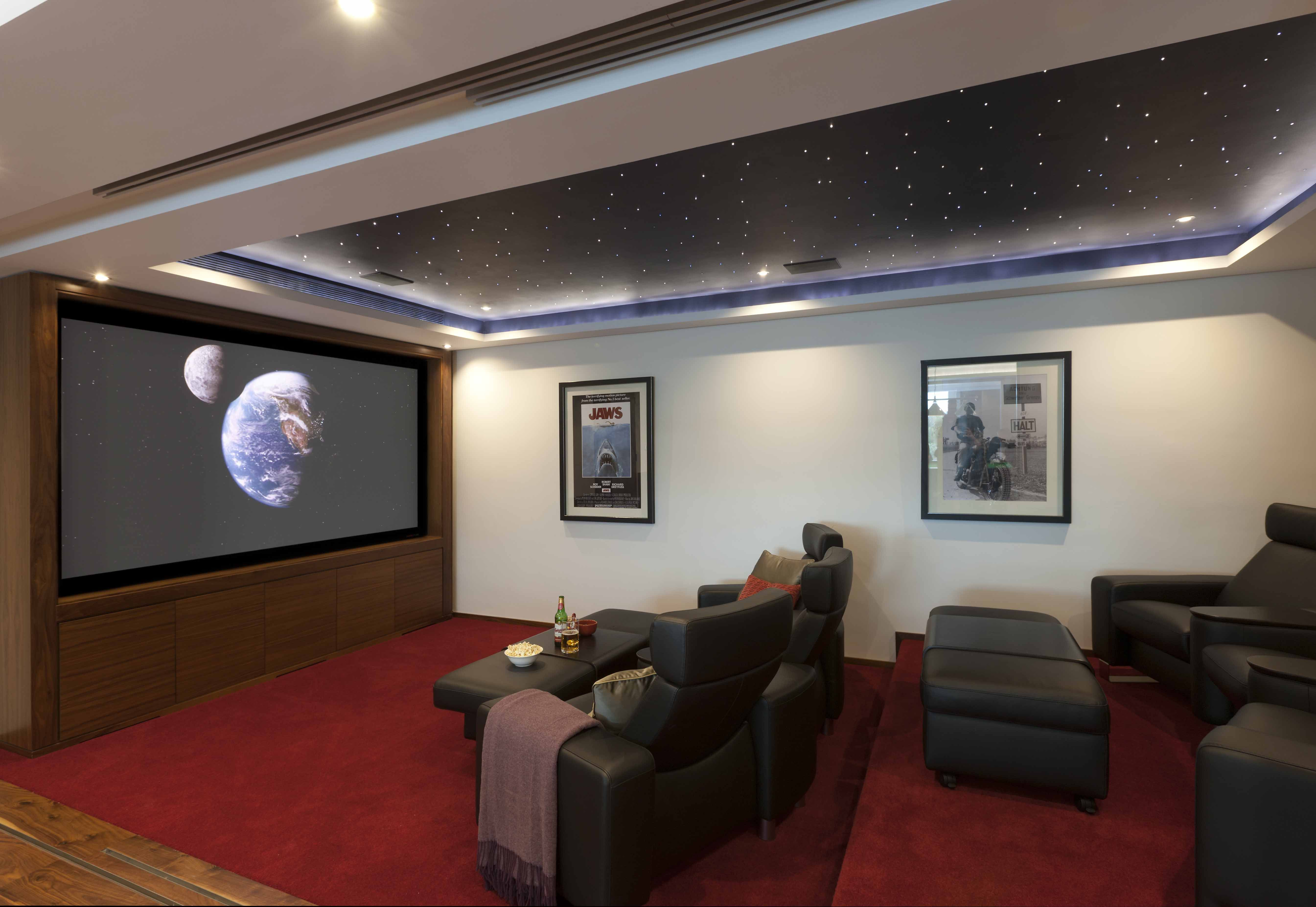 A Custom Made Home Cinema By Tillman Domotics With A 3 Metre