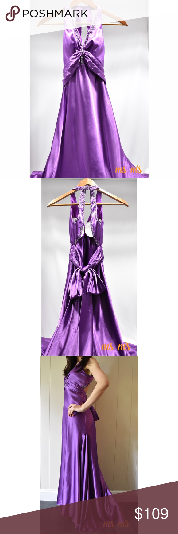 MoriLee by Madeline Gardner Porm dress US:1/2 EXCELLENT condition ...