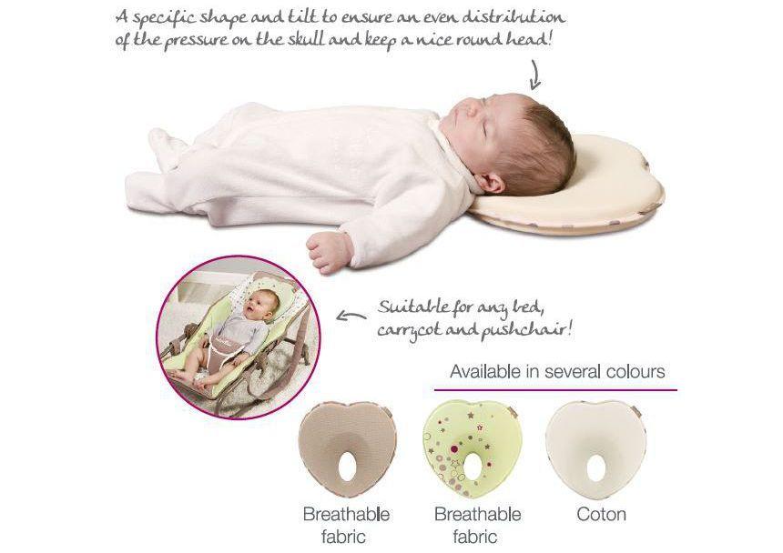 Babymoov Lovenest+ Flat Head Baby Pillow